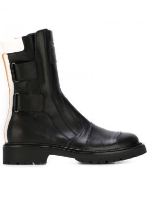 Ботинки по щиколотку A.F.Vandevorst. Цвет: чёрный
