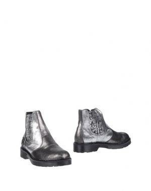 Полусапоги и высокие ботинки 2STAR. Цвет: серый