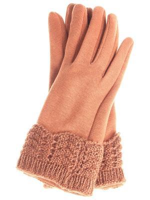 Перчатки Gusachi. Цвет: коричневый