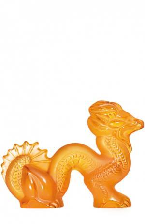 Статуэтка Dragon Small Amber Lalique. Цвет: бесцветный