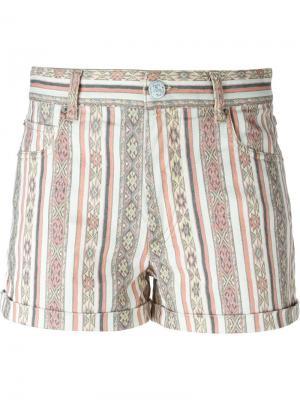 Джинсовые шорты Naomi Isabel Marant Étoile. Цвет: розовый и фиолетовый