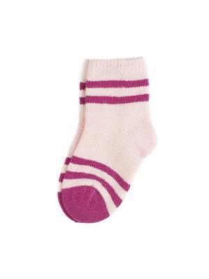 Носки Веселый ветер. Цвет: розовый