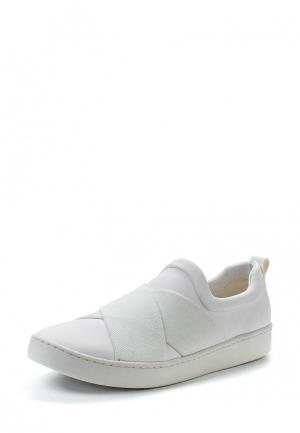 Слипоны DKNY. Цвет: белый