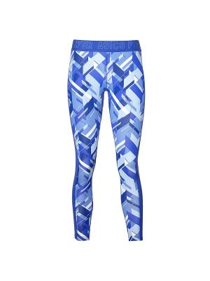 Тайтсы BASE GPX 7/8 TIGHT ASICS. Цвет: синий, голубой
