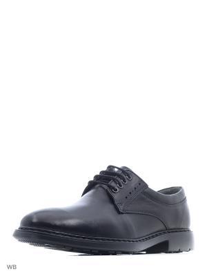 Туфли WOODS. Цвет: черный