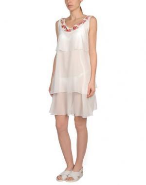 Пляжное платье MISS NAORY. Цвет: слоновая кость