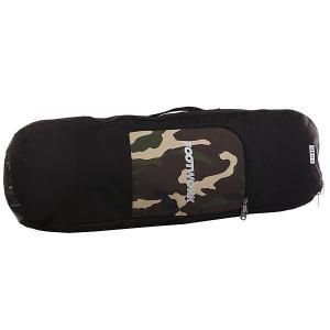 Чехол для скейтборда  X Trnsfr AM Camo/Black Footwork. Цвет: бежевый,зеленый,черный,коричневый