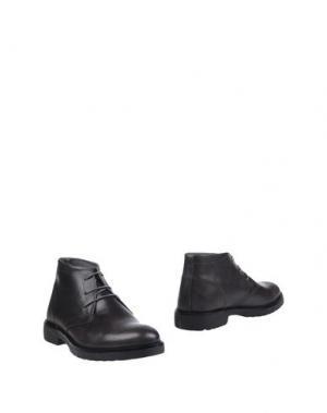 Полусапоги и высокие ботинки ALV ANDARE LONTANO VIAGGIANDO. Цвет: черный