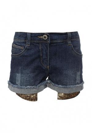 Шорты джинсовые B-Karo. Цвет: синий