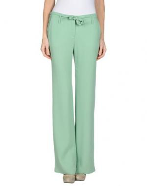 Повседневные брюки FABRIZIO LENZI. Цвет: зеленый