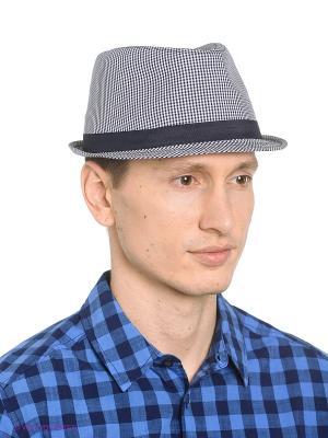 Шляпа Oodji. Цвет: серый, серебристый, белый