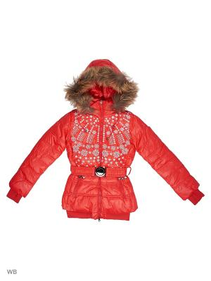 Куртки Arista. Цвет: красный