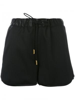 Track shorts The Reracs. Цвет: чёрный