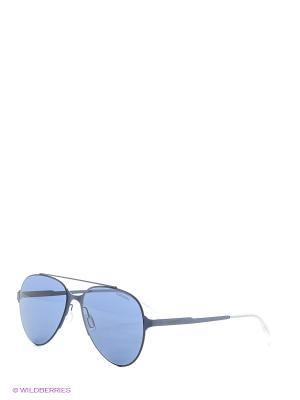 Солнцезащитные очки CARRERA. Цвет: сливовый, синий