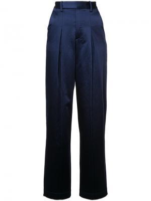 Широкие брюки Rosie Assoulin. Цвет: синий