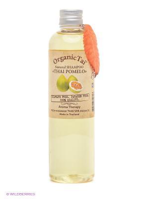 Шампунь для волос Тайский помело, 260 мл Organic Tai. Цвет: прозрачный, кремовый