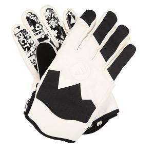 Перчатки сноубордические  Sheeper Black Picture Organic. Цвет: черный,белый