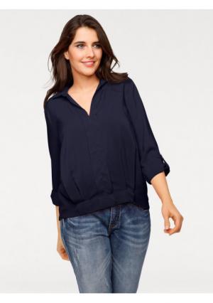 Блузка PATRIZIA DINI. Цвет: красный, темно-синий, черный