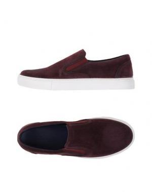 Низкие кеды и кроссовки FABIANO RICCI. Цвет: темно-фиолетовый