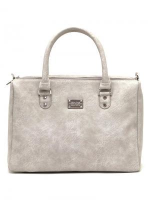 Сумка Solo true bags. Цвет: светло-серый