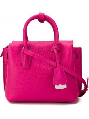 Mini Milla tote MCM. Цвет: розовый и фиолетовый