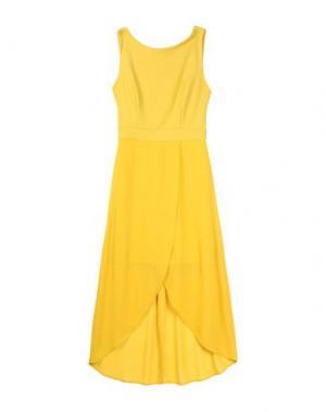 Платье длиной 3/4 TWENTY EASY by KAOS. Цвет: охра