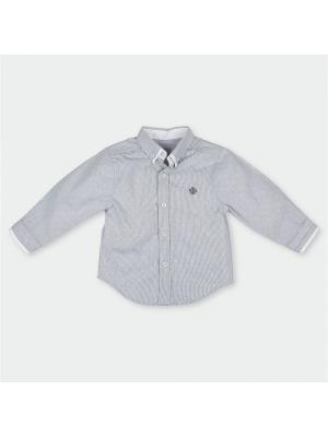 Рубашка с длинным рукавом из поплина Tutto Piccolo 2043S17/ЧЕРНЫЙ