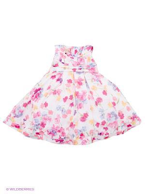 Платье Brums. Цвет: розовый, белый, сиреневый, желтый