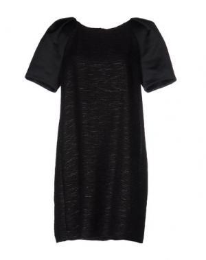 Короткое платье MESSAGERIE. Цвет: черный