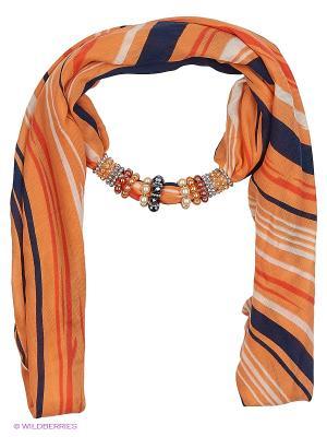 Платок FOXTROT. Цвет: оранжевый