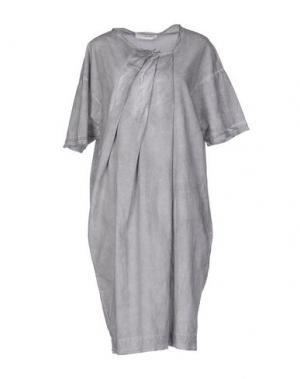 Платье до колена UN-NAMABLE. Цвет: светло-серый