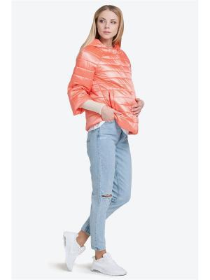 Куртка Modress. Цвет: оранжевый