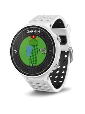 Умные часы Approach S6 Golf для гольфа GARMIN. Цвет: белый