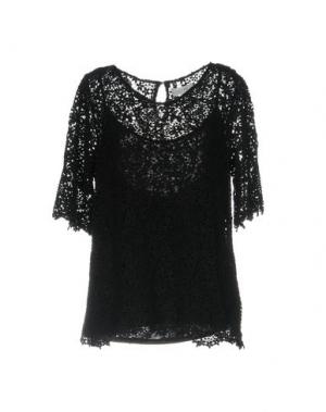 Блузка VELVET by GRAHAM & SPENCER. Цвет: черный
