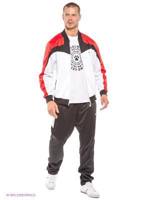 Спортивный костюм ADDIC. Цвет: черный, красный, белый