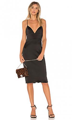 Платье montrose Amanda Uprichard. Цвет: черный
