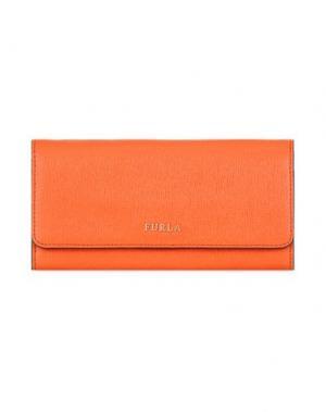 Бумажник FURLA. Цвет: коралловый