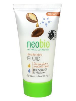 Neobio разглаживающий флюид для лица. Цвет: белый