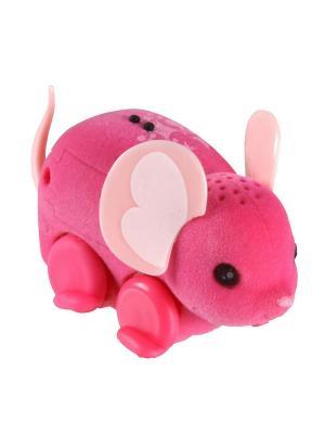 Интерактивная мышка Little Live Pets, розовая Moose. Цвет: розовый