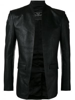 Пиджак с высоким воротом Unconditional. Цвет: чёрный