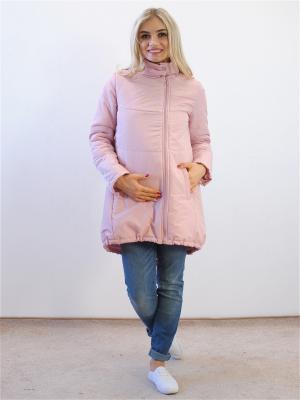 Куртка Адель. Цвет: розовый
