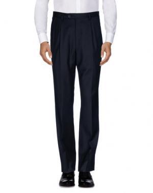 Повседневные брюки MILA SCHÖN. Цвет: темно-синий