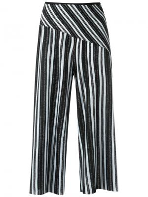 Wide leg crop knit trousers Gig. Цвет: none
