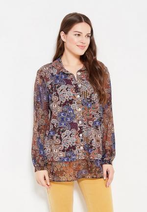 Блуза Intikoma. Цвет: разноцветный