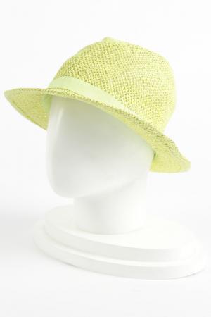 Шляпа Reserved. Цвет: желто-зеленый