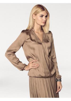 Блузка RICK CARDONA by Heine. Цвет: серо-коричневый