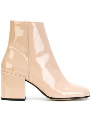 Ботинки Gigi Roma Nubikk. Цвет: телесный