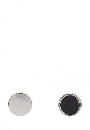 Комплект серьг 2 пары Modis. Цвет: черный