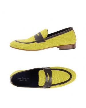 Мокасины CIRO LENDINI. Цвет: желтый