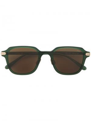 Солнцезащитные очки Eyevan7285. Цвет: зелёный